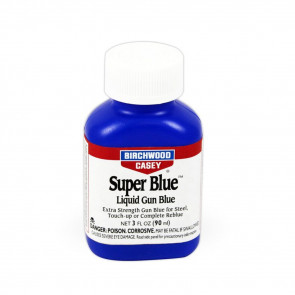 SUPER BLUE LIQUID GUN BLUE - 3 OZ. BOTTLE