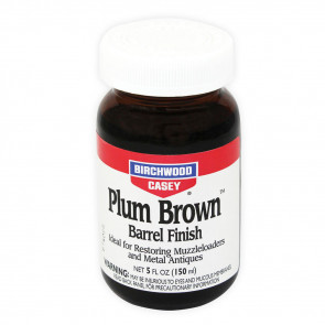 PLUM BROWN BARREL FINISH - 5 OZ. BOTTLE