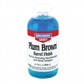 PLUM BROWN™ BARREL FINISH - 32 FL OZ GLASS BOTTLE