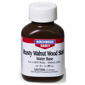 RUSTY WALNUT WOOD STAIN - 3 FL OZ, PLASTIC BOTTLE