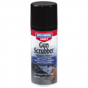 "GUN SCRUBBER FIREARM CLEANER ""SYNTHETIC SAFE"" - 10 OZ. AEROSOL"