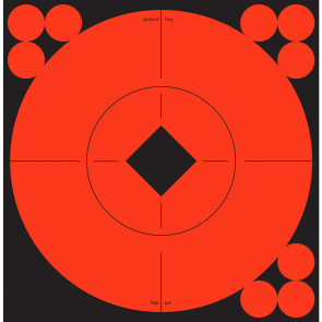 "SELF-ADHESIVE TARGET SPOTS TARGETS - 6"" SPOTS, 10 TARGETS, 120 PASTERS"