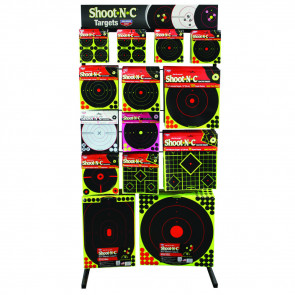 SHOOT N C DELUXE TARGET DISPLAY
