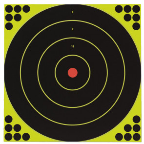 "SHOOT•N•C ® SELF-ADHESIVE TARGETS 12"" BULL'S-EYE, 5 PACK"