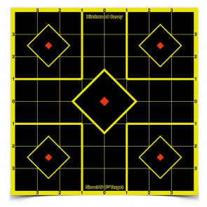 "SHOOT•N•C ® SELF-ADHESIVE TARGETS 8"" SIGHT-IN PACK"