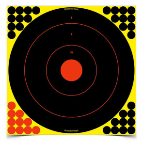 "SHOOT•N• ®C SELF-ADHESIVE TARGETS 17.25"" BULL'S-EYE PACK"