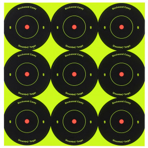 SHOOT•N•C ® SELF-ADHESIVE TARGETS, 12 PACK