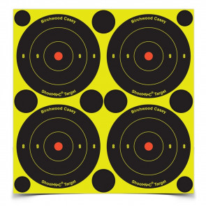"SHOOT•N•C ® SELF-ADHESIVE TARGETS - 3"" BULL'S-EYE PACK, 48 TARGETS"