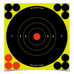 "SHOOT•N•C ® SELF-ADHESIVE TARGETS - 6"" BULL'S-EYE PACK, 12 PACK"