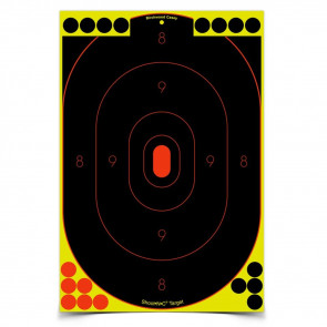"SHOOT•N•C ® SELF-ADHESIVE TARGETS 12"" X 18"" SILHOUETTE PACK"
