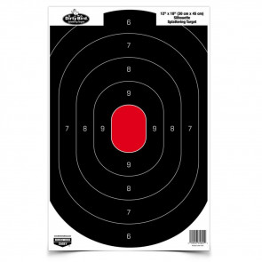 "DIRTY BIRD 12"" X 18"" SILHOUETTE TARGETS"
