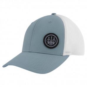 TK FLEXFIT TRUCKER HAT - SMOKE/WHITE, MEDIUM