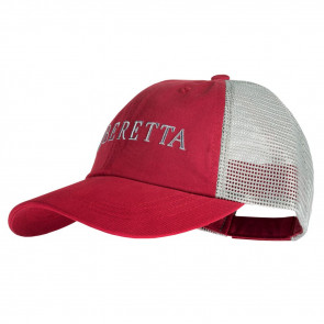 BERETTA LP TRUCKER HAT - CRIMSON