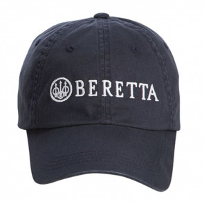 BERETTA COTTON TWILL HAT - NAVY