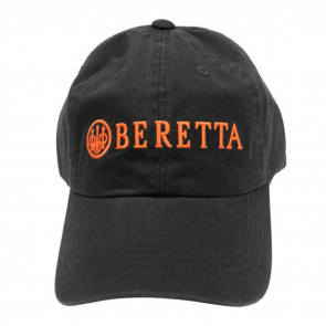 BERETTA COTTON TWILL HAT - CHARCOAL GREY