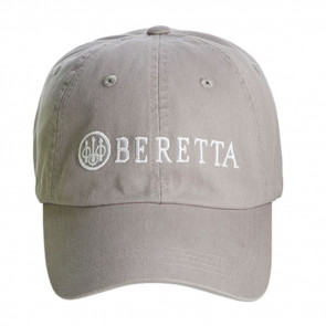 BERETTA COTTON TWILL HAT - GREY