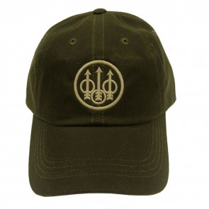 BERETTA WAXED COTTON HAT - OLIVE GREEN