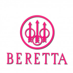 BERETTA WINDOW DECALS - PINK