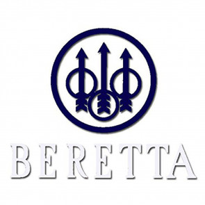 BERETTA WINDOW DECALS - BLUE
