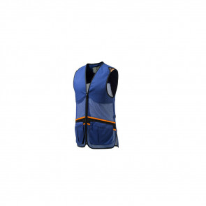 FULL MESH VEST BLUE TOTAL ECLP/GRY XS