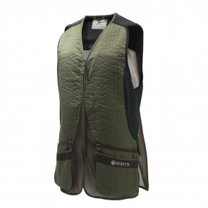 SILVER PIGEON EVO VEST - X-SMALL, GREEN/CHOCOLATE BROWN