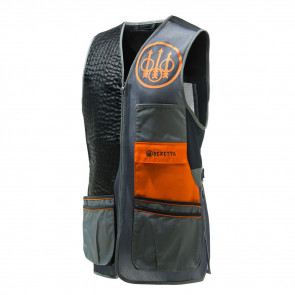TWO TONE SPORTING VEST - SMALL, GREY CASTLE
