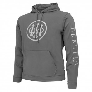 TRIDENT PERFORMANCE HOODY - CHARCOAL, SMALL