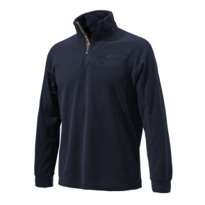 HALF ZIP FLEECE NAVY L
