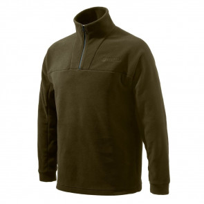 HALF ZIP FLEECE CHOCOLATE XXXL
