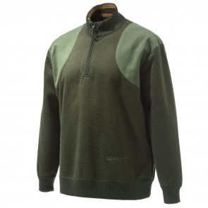 HONOR WINDSTOP SWT 1/4 ZIP GREEN S