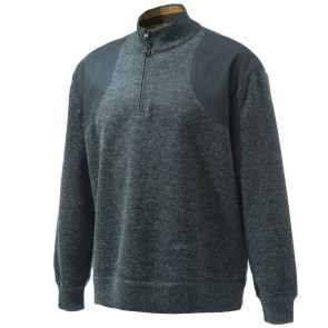 HONOR WINDSTOP SWT 1/4 ZIP DARK GREY XL