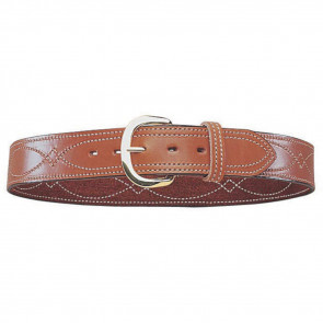 REVERSIBLE FANCY STITCHED BELT