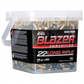 BLAZER® RIMFIRE 22 LR - HP - 1500/BUCKET