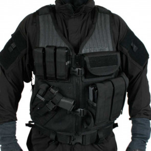 OMEGA ELITE VEST CD PSTL BLK