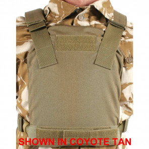 LOW VIS PLATE CARRIER 32HP12 BLK
