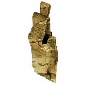 SINGLE PISTOL MAG POUCH WITH TALON FLEX - MULTI CAMO