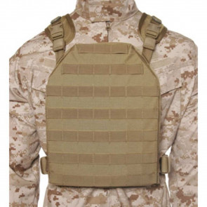 LW PLATE CARRIER HARNESS S/M TAN
