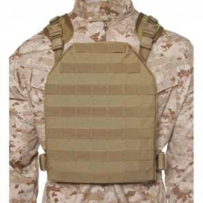 LW PLATE CARRIER HRNS L/XL TAN