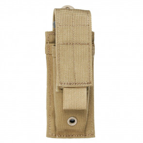 SINGLE PISTOL MAG POUCH - USA MOLLE, COYOTE TAN