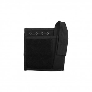 ADMIN/COMPASS/FLASHLIGHT POUCH - USA MOLLE, BLACK