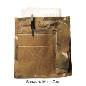 ADMIN/COMPASS/FLASHLIGHT POUCH - USA MOLLE, COYOTE TAN