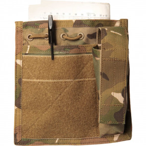 ADMIN/COMPASS/FLASHLIGHT POUCH - USA MOLLE, MULTI CAM
