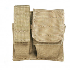 CUFF/MAG/FLASHLIGHT POUCH - USA MOLLE, COYOTE TAN