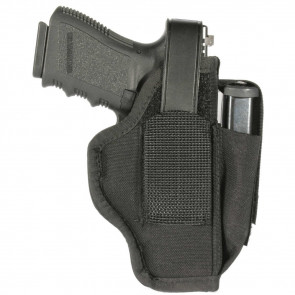 AMBIDEXTROUS HOLSTER WITH MAG POUCH  - SIZE 02, BLACK