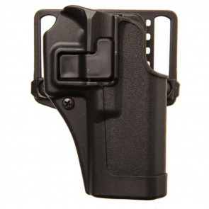 SERPA CQC HOLSTER - COLT 1911 W/RAIL - RIGHT HANDED - MATTE BLACK