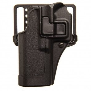 SERPA CQC HOLSTER - GLOCK 20/21/37 & S&W M&P 45 - LEFT HANDED - MATTE BLACK