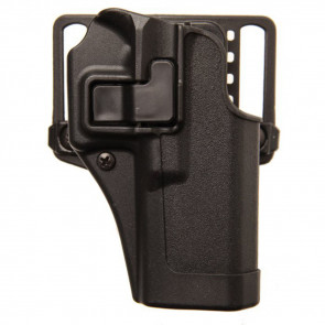 SERPA CQC HOLSTER - COLT COMMANDER 1911 W/RAIL - RIGHT HANDED - MATTE BLACK