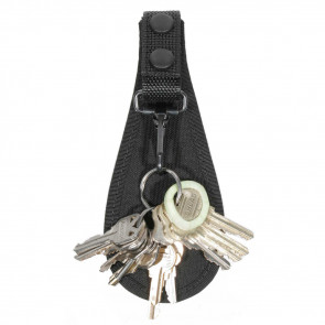TRAD CORD OPEN KEY HOLDER BLK