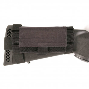 BUTTSTOCK SHELL HOLDER PCH BLK