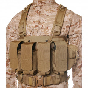 COMMANDO CHEST HARNESS COY TAN